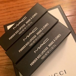 Bundle of 3 MAC lipsticks💕